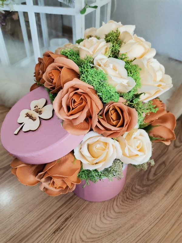 flower box štvorlístok