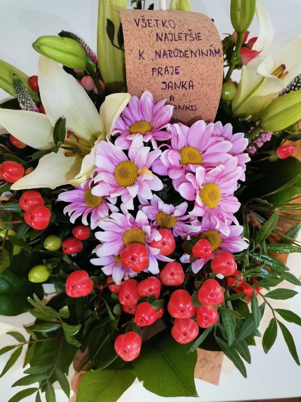 Gratulačná kytica ANNA