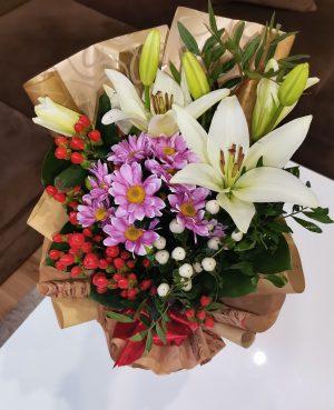 Gratulačná kytica NINA