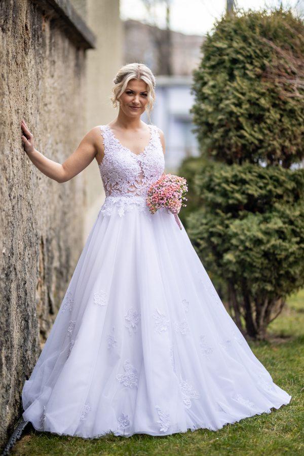 Svadobné šaty Marína č.105
