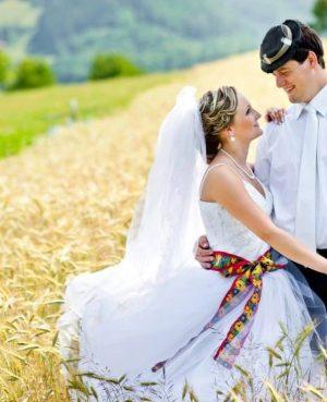 folk svadobne saty